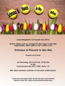 Schmaus & Plausch in den Mai